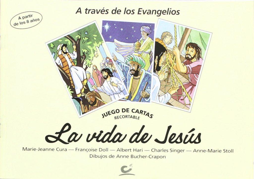 juego de cartas la vida de jesus