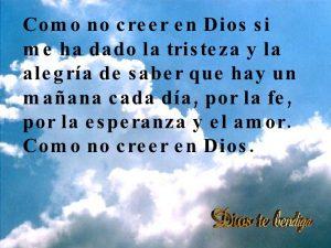 para que creer en dios si el no cree en nosotros que es creer en dios motivos para creer en dios chesterton cuando se deja de creer en dios